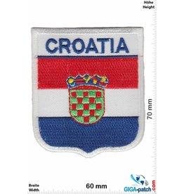 Kroatien, Croatia Croatia - Wappen - Kroatien