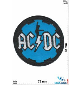 AC DC ACDC  - blue - AC DC
