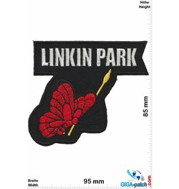Linkin Park  Linkin Park - butterfly red