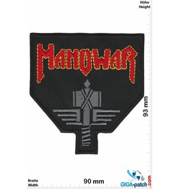 Manowar Manowar - Sign of the Hammer - red black
