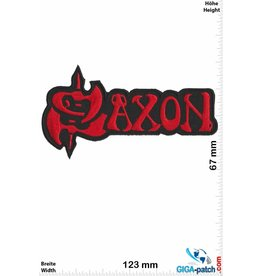 Saxon Saxon -Heavy-Metal-Band - red