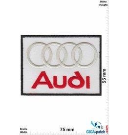 Audi Audi - weiss - rot