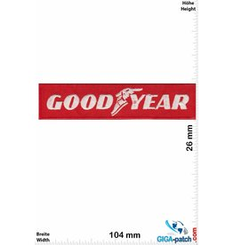Goodyear Goodyear - red