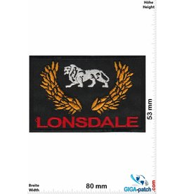 Boxen Lonsdale London - Boxing - Fight Streetwear - red gold
