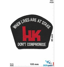 Heckler Koch Heckler & Koch - When Lives are at Stake- Don't Compromise - Sportwaffen