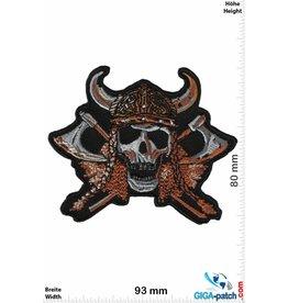 Totenkopf Viking Skull - Wikinger Germane Totenkopf - small