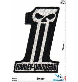 Harley Davidson Harley Davidson - Number One Skull