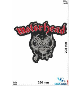 Motörhead Bastards - Motörhead- 26 cm - BIG