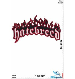 Hatebreed Hatebreed - black silver  -Metallic-Hardcore-Band