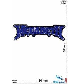 Megadeth Megadeth - darkblue - Metalband