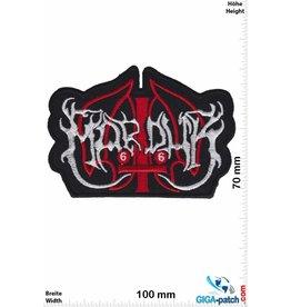 Marduk Marduk  - silver red-  Black-Metal-Band