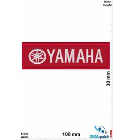 Yamaha Yamaha  silber/rot