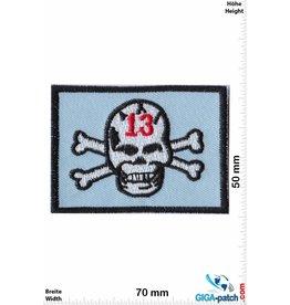 Lucky 13 Lucky 13 - Skull  - blue