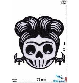 Totenkopf Skull - Girl Lady - Oldschool