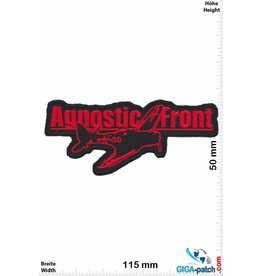 Agnostic Front Agnostic Front - red -Hardcore-Punk-Band