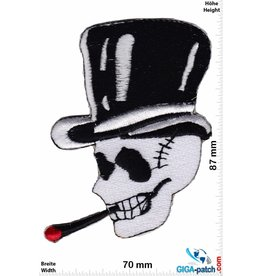 Totenkopf Totenkopf - mit Zylinder