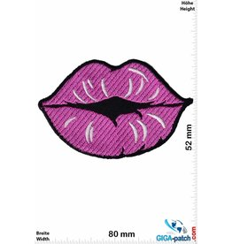 Kiss Kiss Mouth - pink