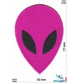Alien Alien Head- pink