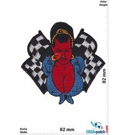 Coop Devil Race Girl - Chris Cooper - Coop Art