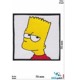 Simpson Bart Simpson  - Kopf - square