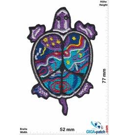 Trutle Lila Schildkröte - Purple Turtle