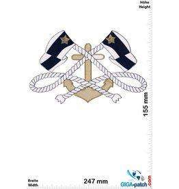 Marine Marine Anker Knoten - 24 cm