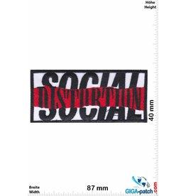 Social Distortion Social Distortion -red black