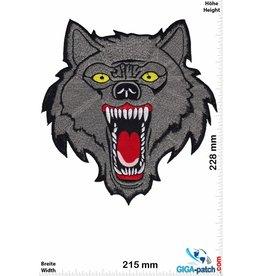 Wolf Lone Wolf - silver - 23 cm - BIG