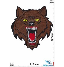 Wolf Lone Wolf - braun - 23 cm - BIG