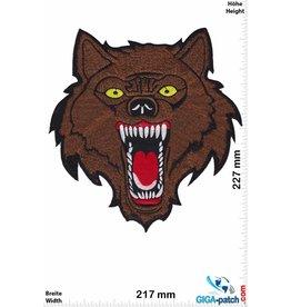 Wolf Lone Wolf - brown - 23 cm - BIG