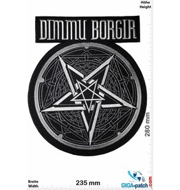 Dimmu Borgir Dimmu Borgir- Metal-Band- 28cm - BIG