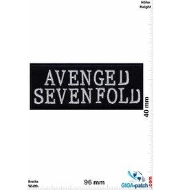 Avenged Sevenfold Avenged Sevenfold - A7X  - US-Metal