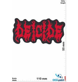 Deicide Deicide - Death-Metal-Band  - red