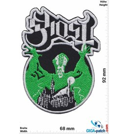 Ghost Ghost - green - Heavy-Metal-Band