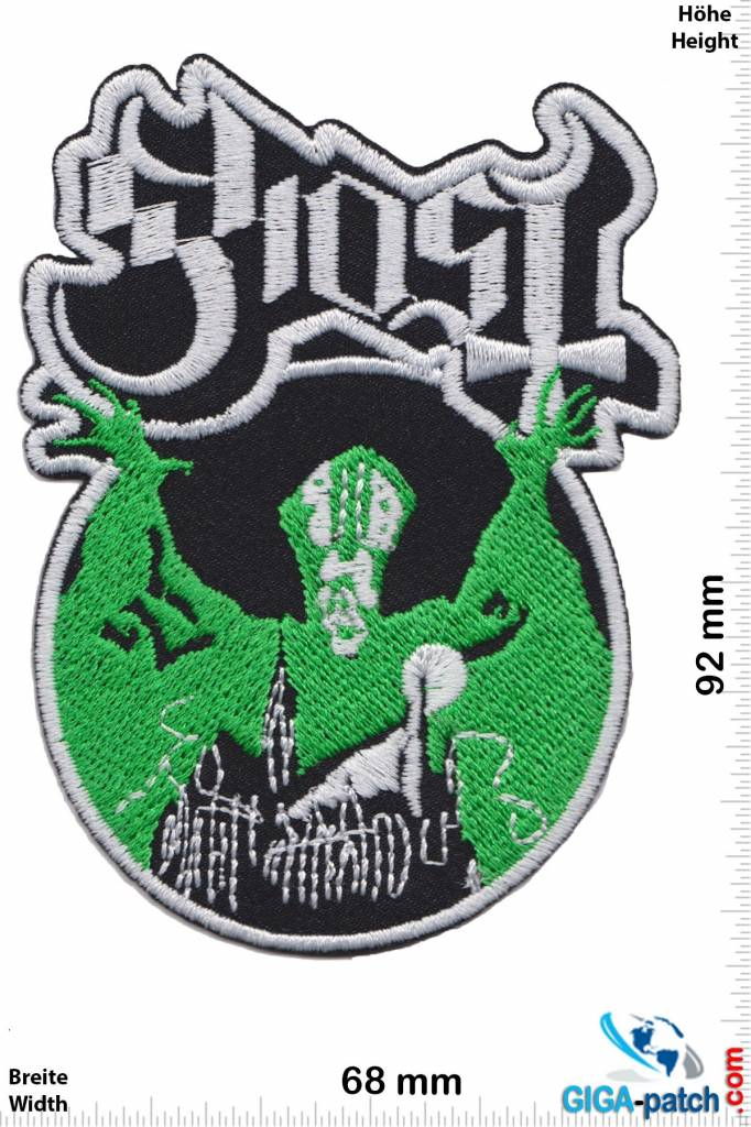 Ghost ghost green heavy metal band