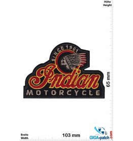 Indian Indian  Motorcycle - Since 1901 -black -  HQ