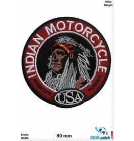 Indian Indian  Motorcycle - USA - round -  HQ