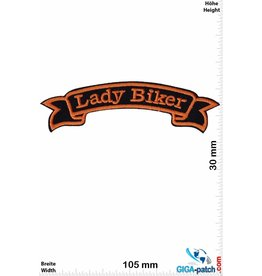 Lady Biker - orange