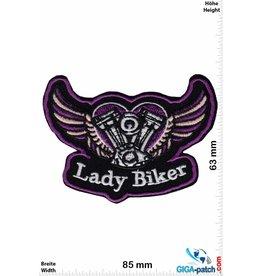 Lady Biker - V2 - Fly