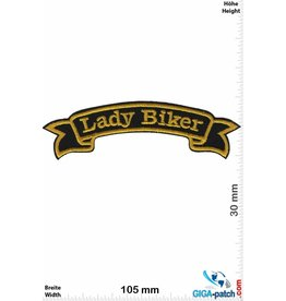 Lady Biker - gold