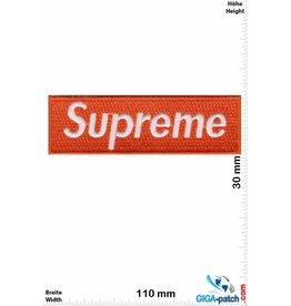Supreme Supreme - orange