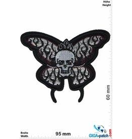 Totenkopf Totenkopf Schmetterling -black