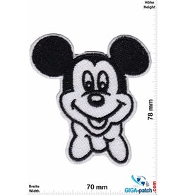 Mickey Mouse  Mickey Mouse  - black white