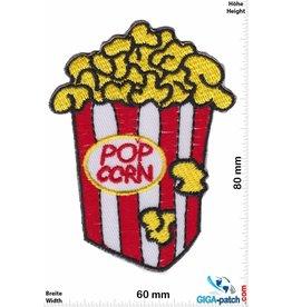 Fun Pop Corn - red white