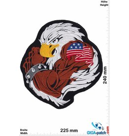 Eagle Muskel Adler USA  - Eagle USA - 24 cm