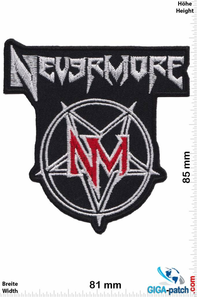 Nevermore nevermore silber red us metal band hq