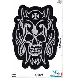 Totenkopf Skull Totenkopf -  black silver