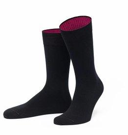 von Jungfeld Herren Socken (Schwarz mit Pink) by von Jungfeld