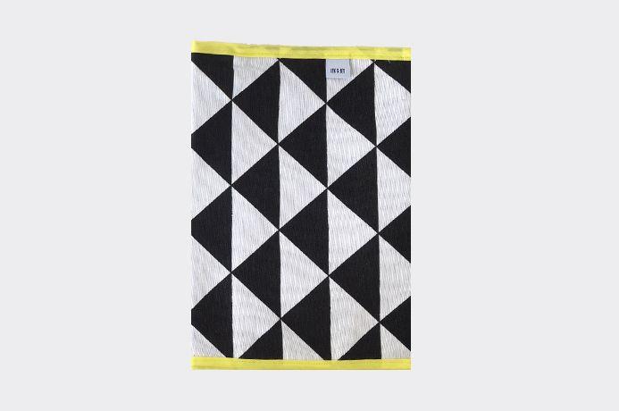 Iek & Jet Luieretui Boris - Black & white yellow