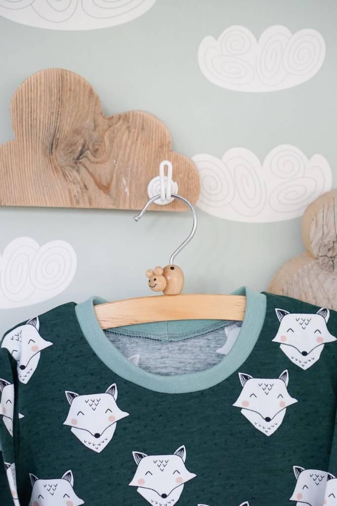 Iek & Jet Sweater Bo - Fox green
